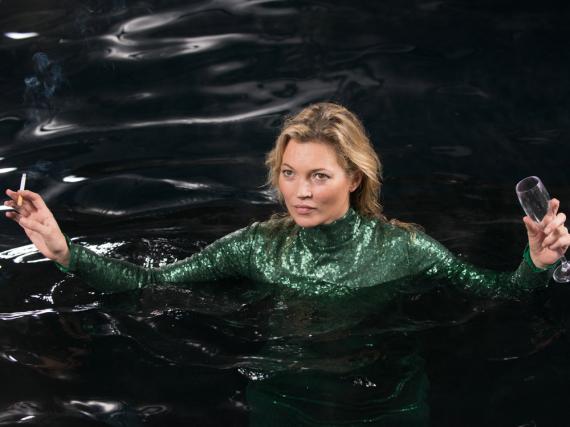 Kate Moss geht in