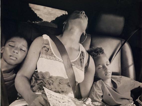 Schlafen tief und fest: Alicia Keys und ihre beiden Kids