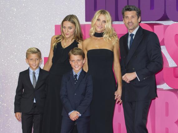 Patrick Dempsey nahm Frau, Tochter und Söhne mit nach London