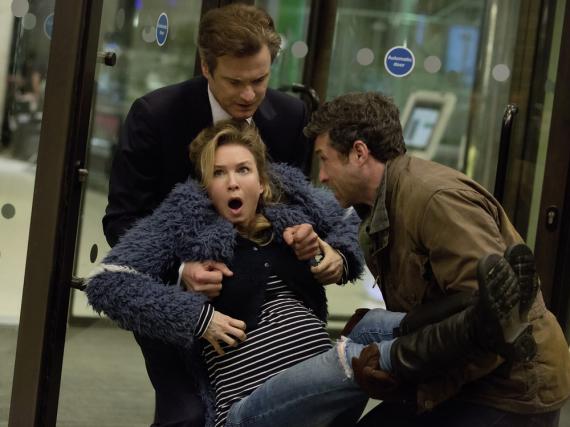 Bridget Jones (Renée Zellweger) bekommt ein Baby, aber wer der Vater ist, das weiß sie nicht