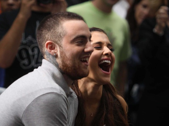 Ariana Grande und Mac Miller bei den MTV Video Music Awards 2016