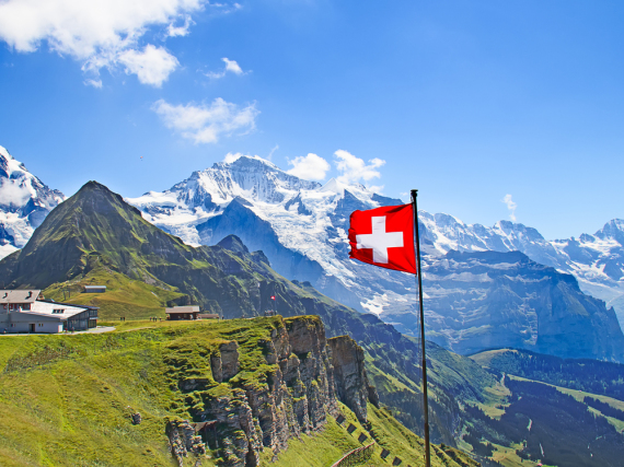 Die Schweizer Berge sind wunderschön, die Schweizer Feste und Bräuche ebenso
