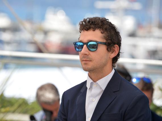 Shia LaBeouf beim diesjährigen Filmfest in Cannes