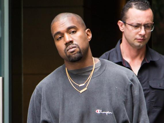 Kanye West hat seine Fashion-Show nicht gut genug geplant