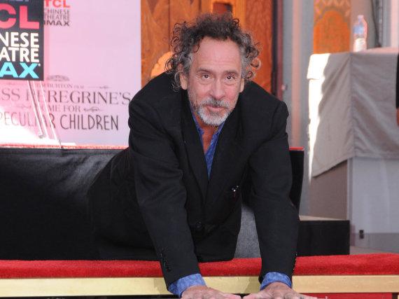 Tim Burtons Fuß- und Handabdrücke sind nun verewigt
