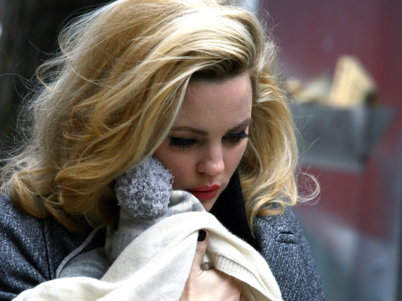 Melissa George mit ihrem Baby in New York