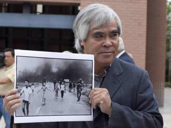 Nick Út mit seinem berühmtesten Foto