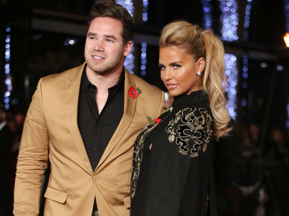 Katie Price und ihr Ehemann Kieran Hayler bei einer Filmpremiere in London