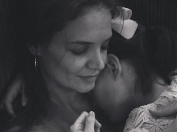 Katie Holmes mit ihrer Tochter Suri Cruise