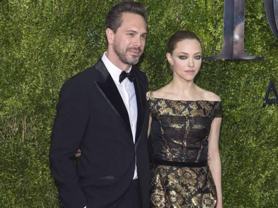 Amanda Seyfried und Thomas Sadoski bei den Tony Awards