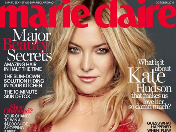 Kate Hudson auf dem Cover der US-Zeitschrift