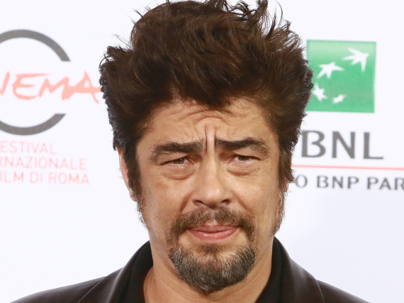 Wirkt noch etwas skeptisch: Benicio del Toro