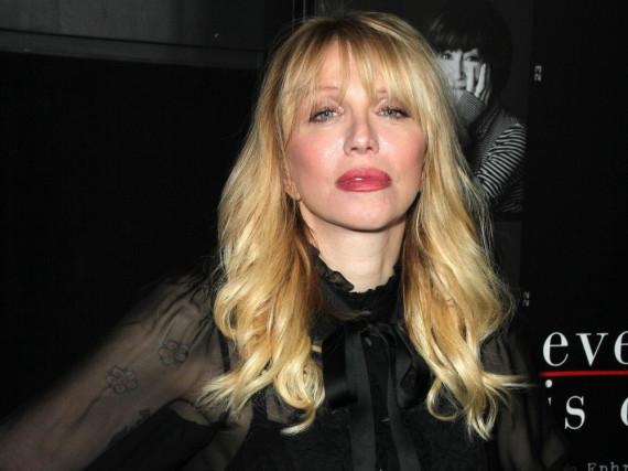 Geht gerne unangemeldet auf Partys: Courtney Love