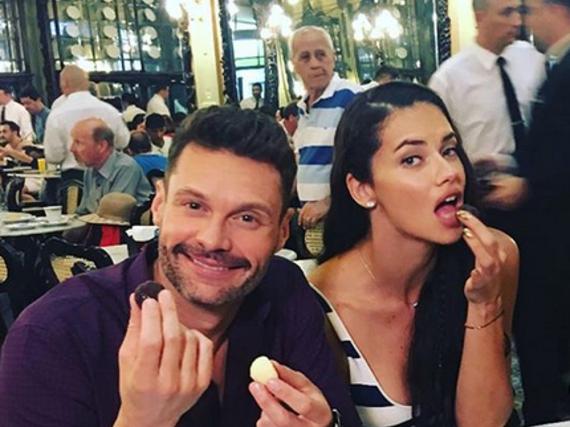 Das neue Traumpaar? Ryan Seacrest und Adriana Lima
