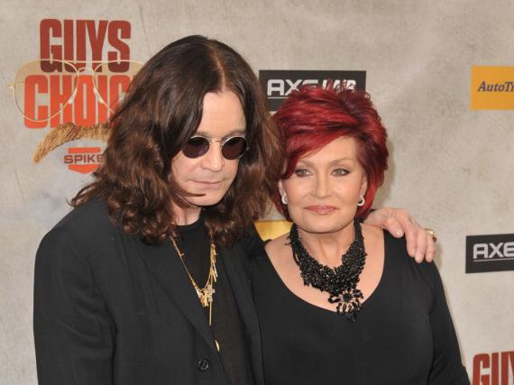 Irgendwie unzertrennlich: Ozzy Osbourne und seine Sharon
