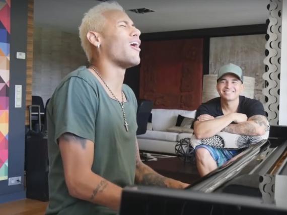 Als Sänger wäre Fußballer Neymar wohl kein Millionär geworden