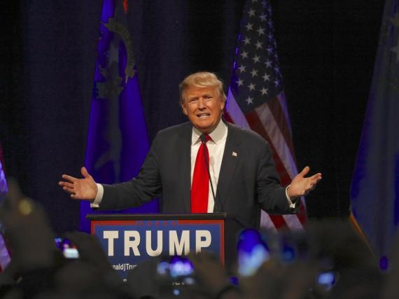 Wollte in der Show von Jimmy Fallon Sympathiepunkte sammeln: Donald Trump