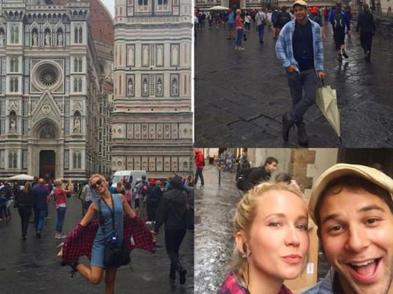 Anna Camp und Skylar Astin sind auf Hochzeitsreise in Italien