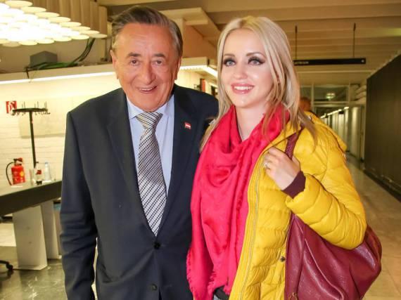 Richard und Cathy Lugner im April 2016 in Österreich