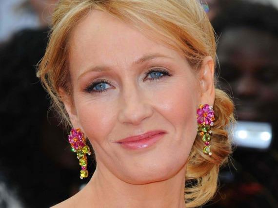 J.K. Rowling auf einer Veranstaltung in London