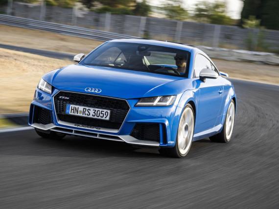 Audi TT RS Coupé: Beeindruckend auf der Rennstrecke