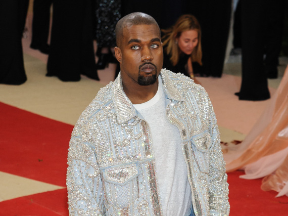 Mit oder ohne Kontaktlinsen: Kanye West hat seine ganz eigene Sicht der Dinge