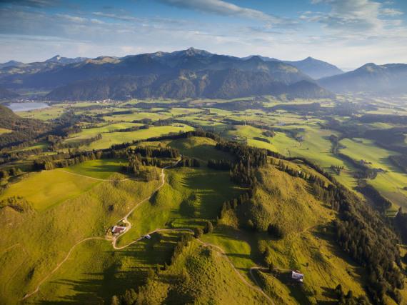 Kaiserwetter im Kaiserwinkl in Tirol