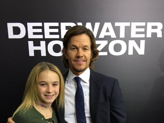 Mark Wahlberg mit seiner Tochter Ella Rae