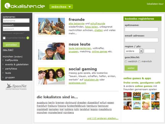 Am 30. September geht die Lokalisten-Seite offline