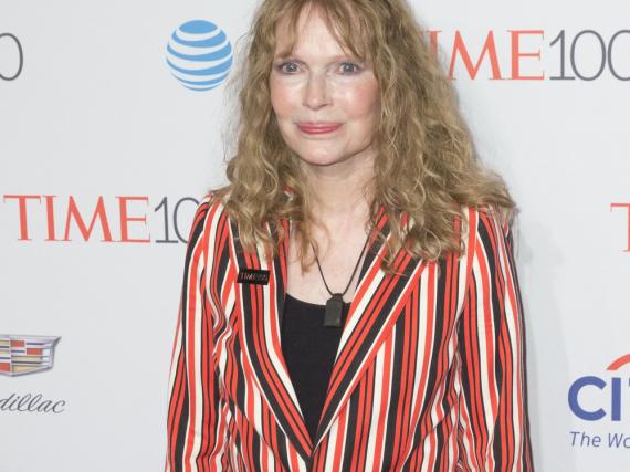 Mia Farrow bei einer Veranstaltung in New York