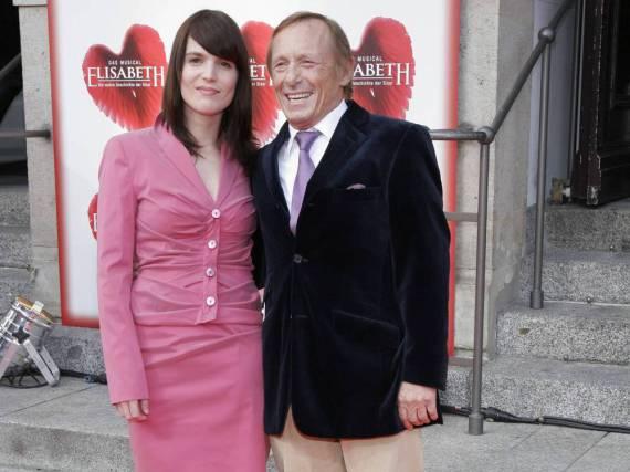 Claus Theo Gärtner und seine Frau Sarah bei einer Veranstaltung