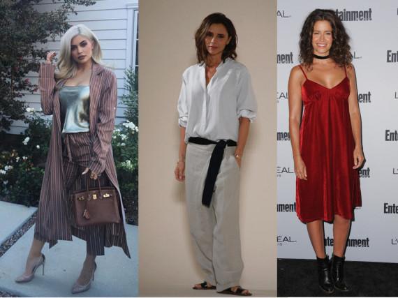 Von Kendall Jenner bis Victoria Beckham - die Stars tragen schon jetzt die neuen Herbsttrends