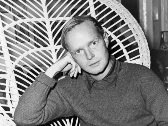 Seine Asche soll weiterhin auf Reisen gehen: Truman Capote