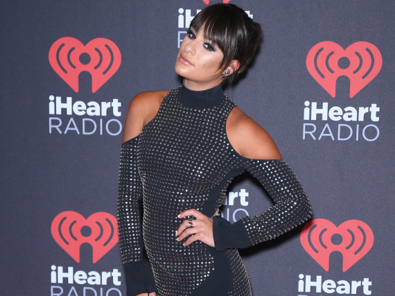 Lea Michele beim iHeart Radio Music Festival 2016
