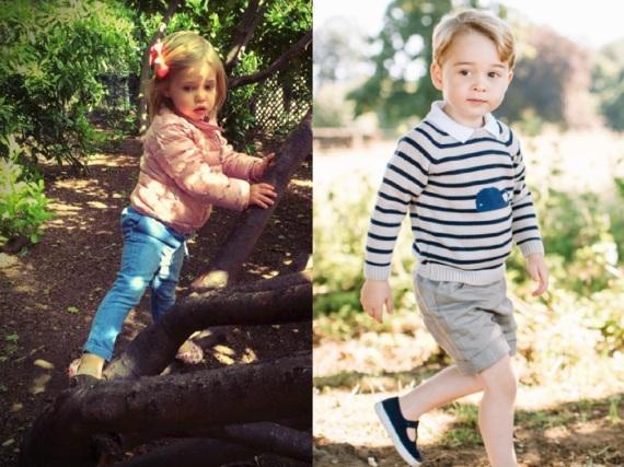 Beide sind gerne im Grünen unterwegs: Prinzessin Leonore von Schweden und Prinz George von Cambridge