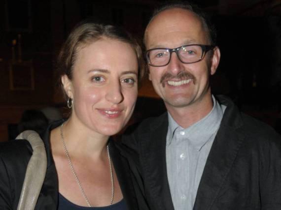 Maren Eggert und Peter Jordan werden wieder Eltern