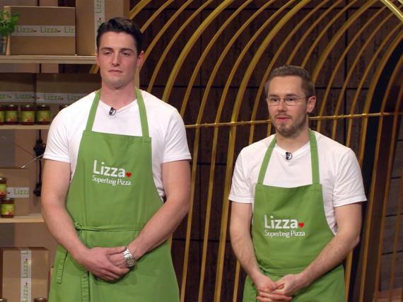 Marc Schlegel (r.) und Matthias Kramer überzeugten mit Lizza