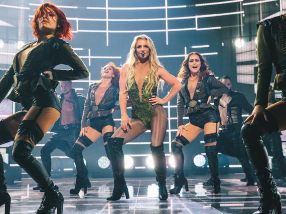 Britney Spears heizte beim Apple Music Festival im Roundhouse London ordentlich ein
