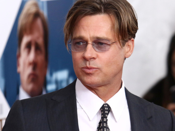 Brad Pitt bei der Premiere von