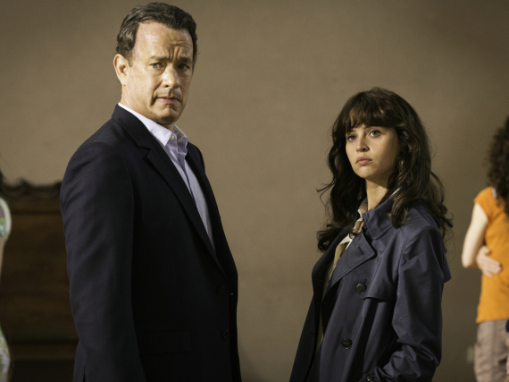 Robert Langdon (Tom Hanks) und Dr. Sienna Brooks (Felicity Jones) in Sony Pictures'