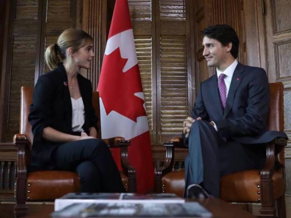 Schauspielerin Emma Watson will junge Leute für Politik begeistern