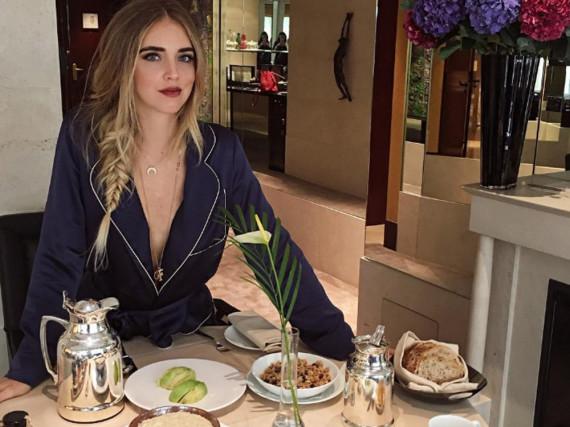 Immer bereit für's nächste Shooting: Mode-Bloggerin Chiara Ferragni