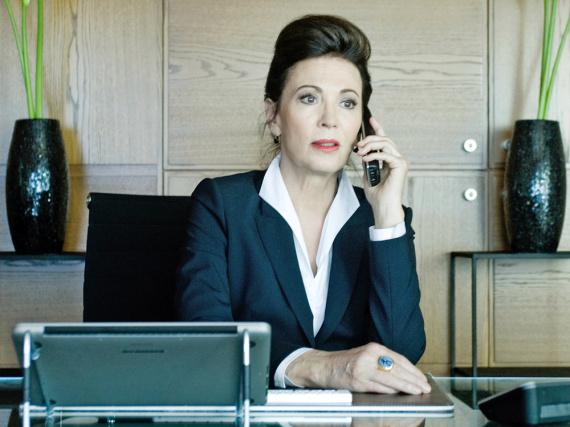 Iris Berben als Lea Behrwaldt in dem ZDF-Zweiteiler