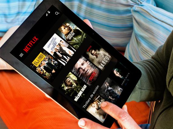Machte sich für mehrere Stunden aus dem Staub: Der Netflix-Startbildschirm