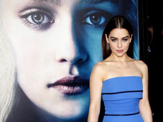 Für deutsche Männer ist Emilia Clarke die schönste Serien-Darstellerin