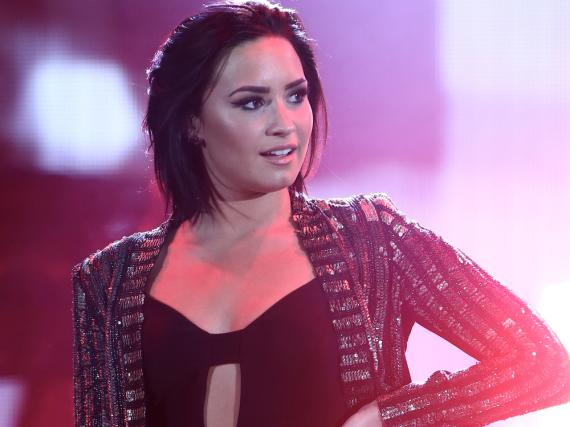 Demi Lovato bei einem Auftritt in Hollywood