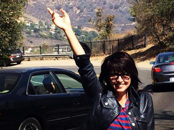 Nena postete auch fleißig Fotos aus den USA