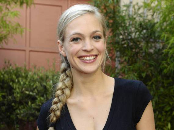Julie Engelbrecht hält sich mit Sport und einer vernünftigen Ernährung fit - das savoir-vivre einer Halb-Französin pflegt sie trotzdem