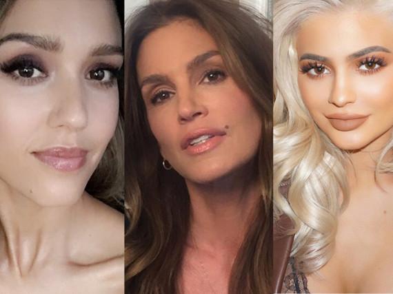 Jessica Alba, Cindy Crawford und Kylie Jenner sind nur einige Promidamen, die mit Beauty-Produkten Geld verdienen