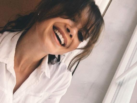 Mandy Grace Capristo auf einem Selfie aus dem vergangenen September